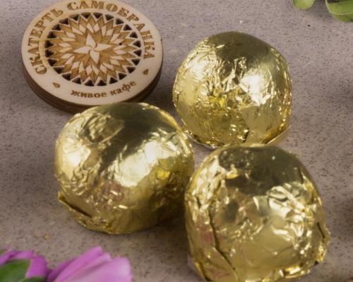 Конфеты «Золотой колобок»