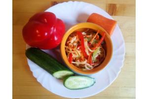 Салат «Редкий овощ»